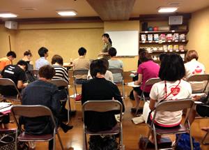 2012東京:コンディショニングトレーナー養成講座の様子