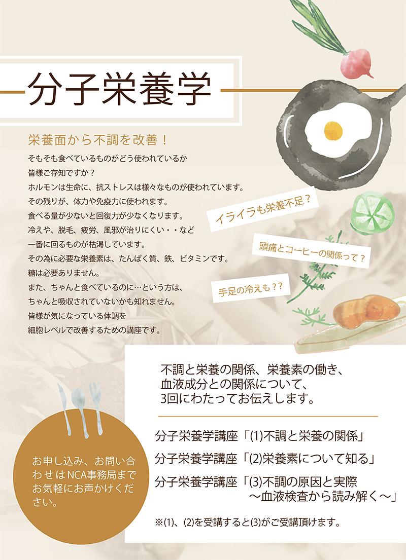分子栄養学ワークショップ   NCA   一般社団法人 日本 ...